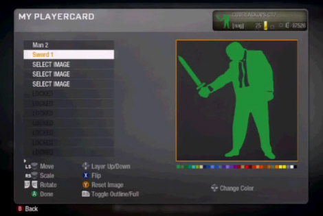The Emblem Maker in Call of Duty: Black Ops