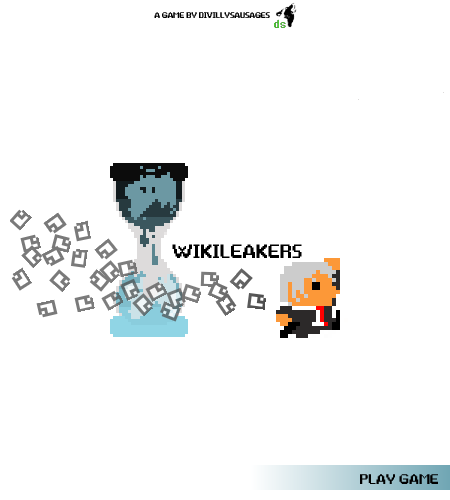 The Wikileakers title screen