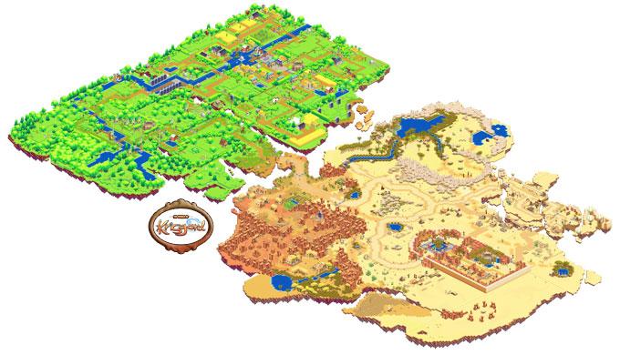 An overview of the Krisgard world