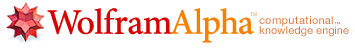 The Wolfram|Alpha search engine