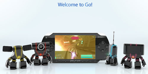 The 3D robots representing the new PSP add-ons