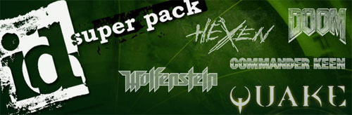 The id Super Pack graphic