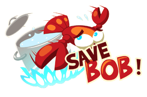 The Save Bob! logo